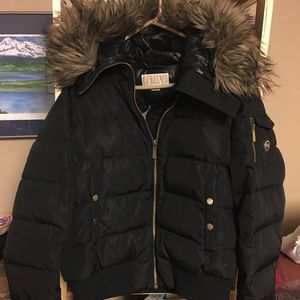 Michael Kors, faux fur,, winter coat